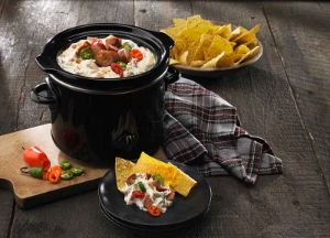 Image of Queso Blanco & White Bean Slow Cooker Dip
